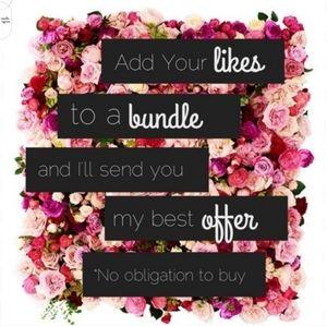 Bundle!!!  Bundle!!!  For Best Offers!